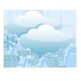 Couvert, faibles chutes de neige