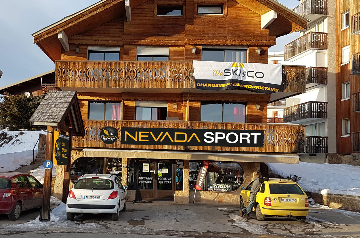 névada sports Alpe d'Huez