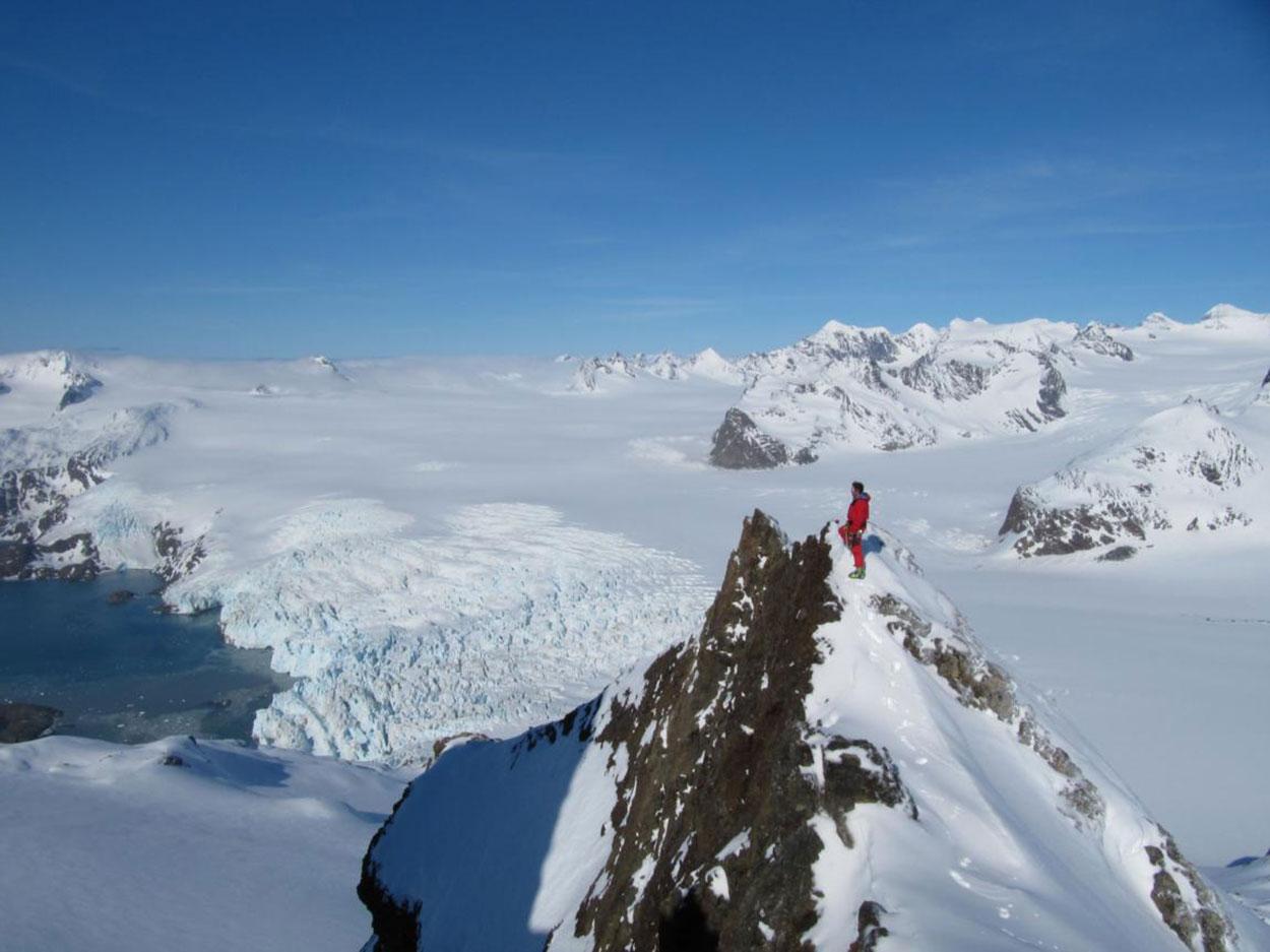 Alpinisme avec le Bureau des Guides