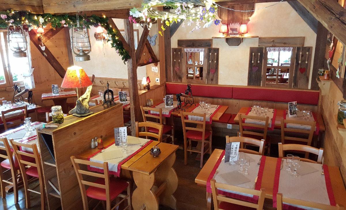 Restaurant Edelweiss intérieur