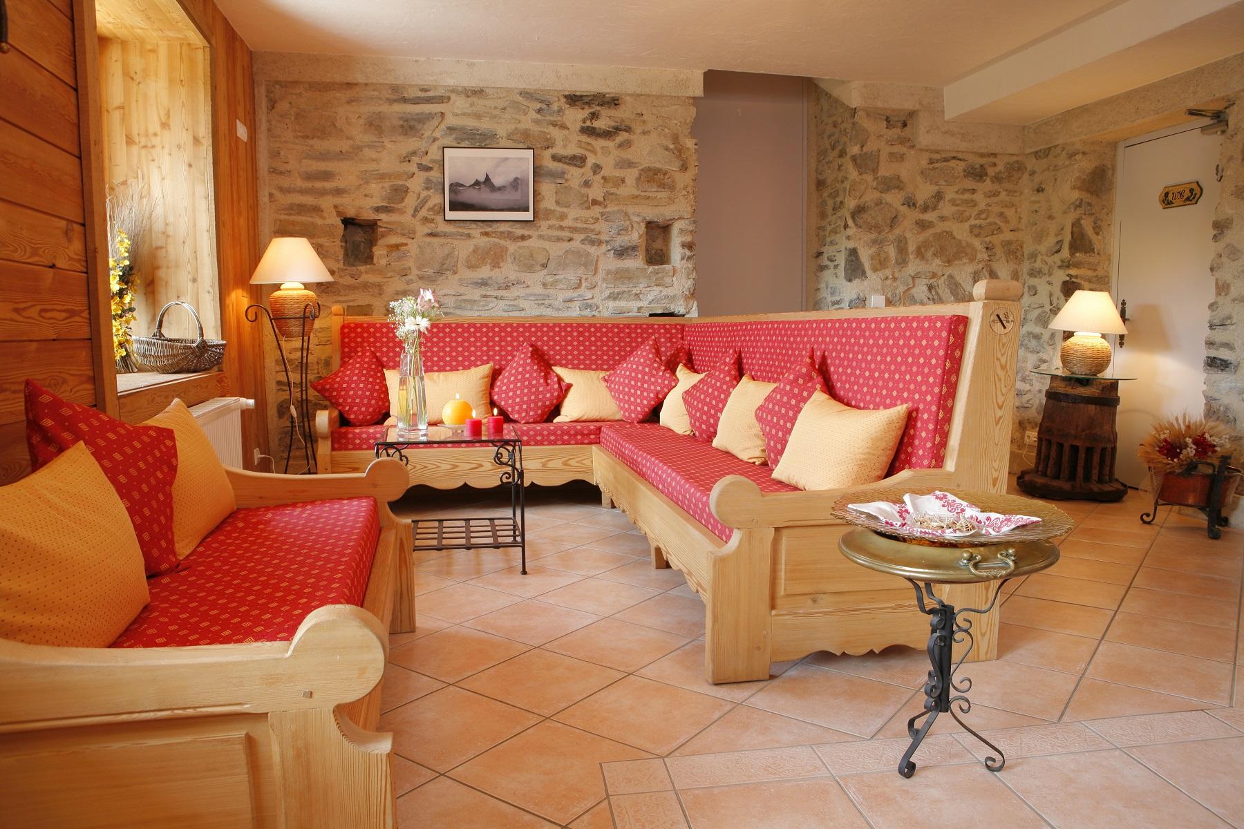 Chalet Ancolie salon