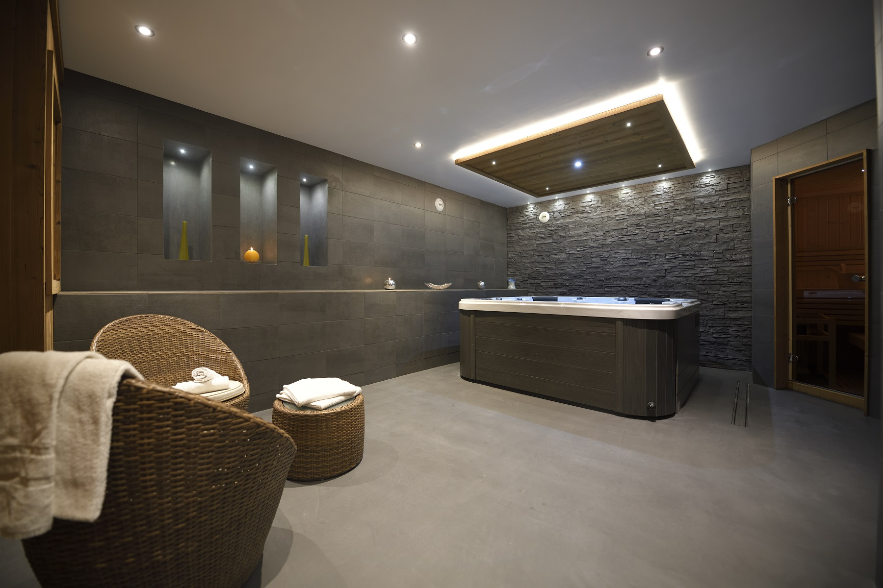 Chalet Ancolie spa