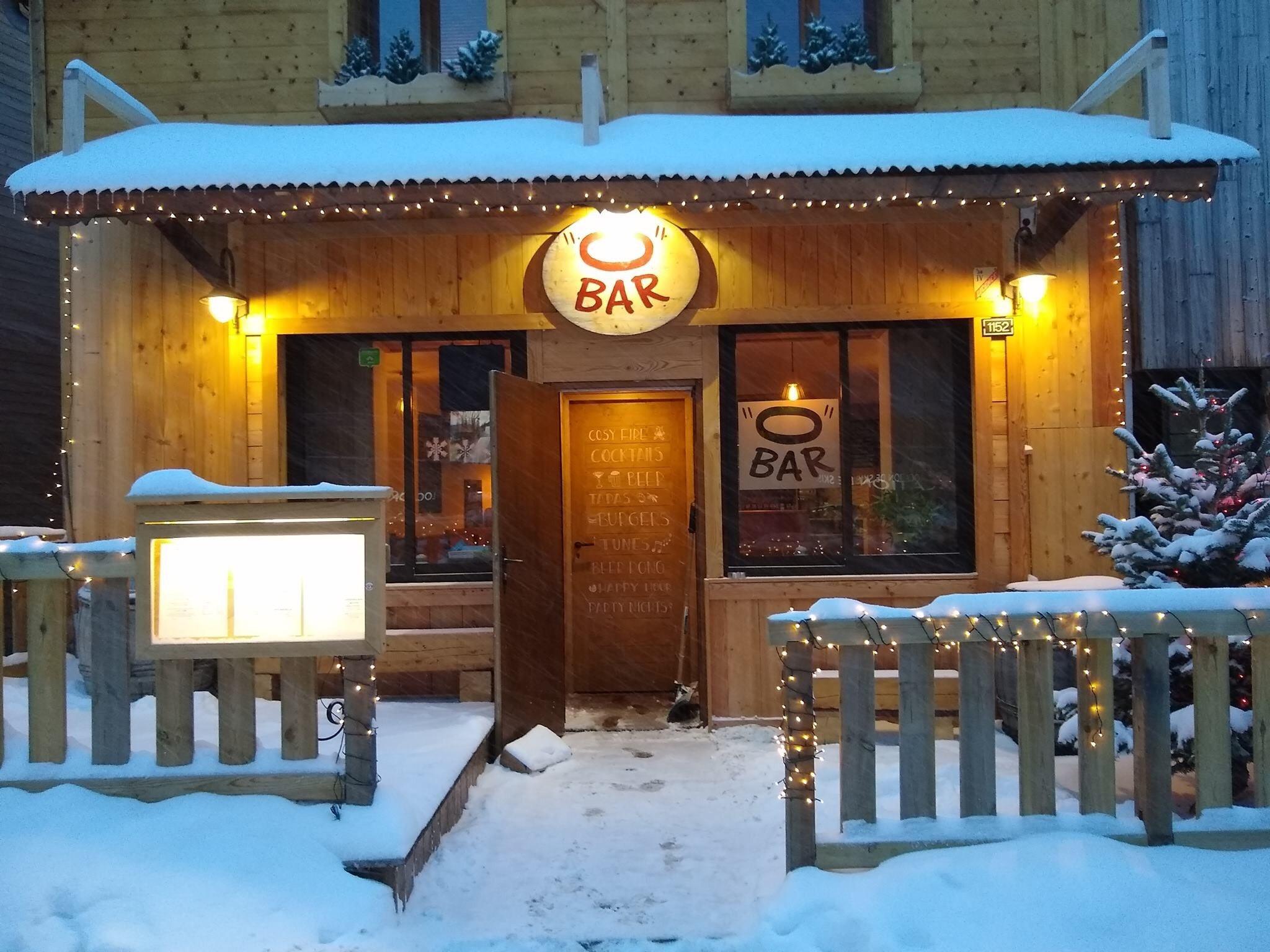 O bar hiver