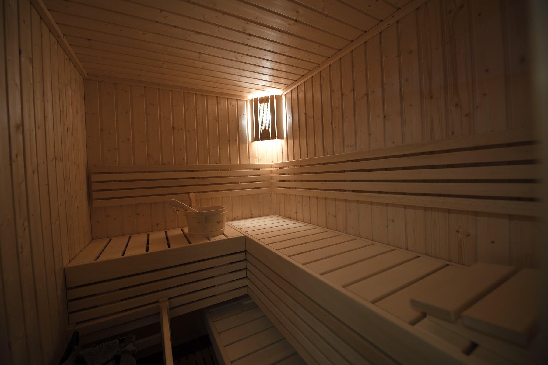 Chalet l'ancolie sauna