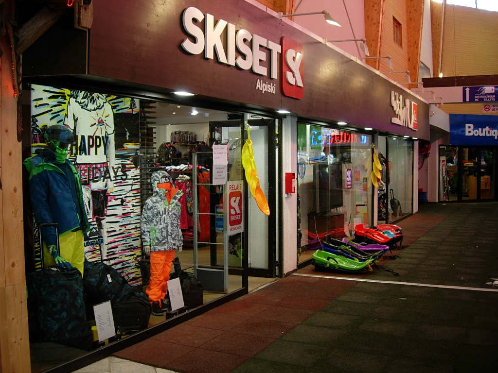 Alpiski - Skiset