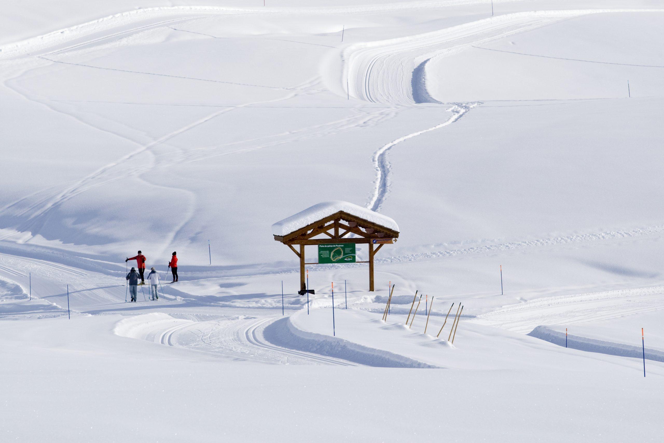 Domaine skiable nordique