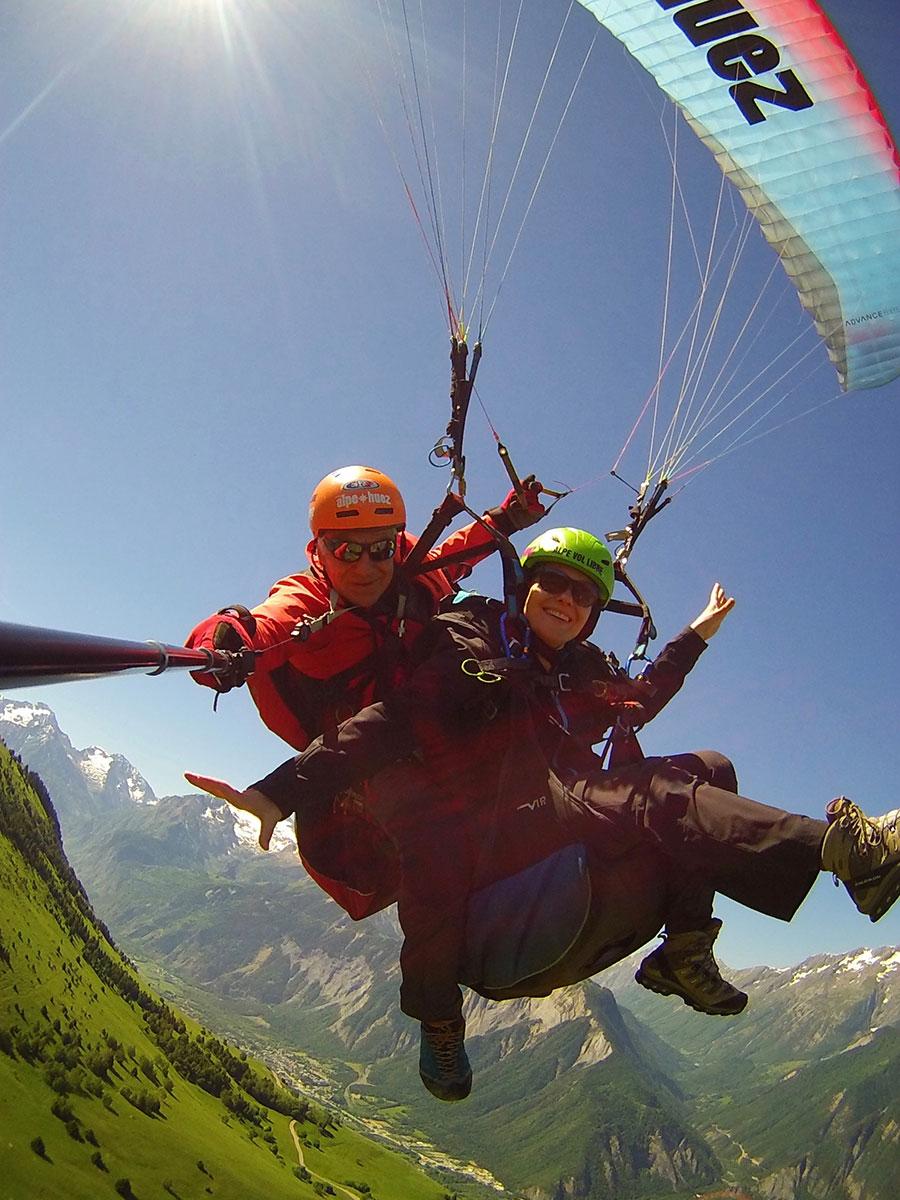Parapente avec Alpe Vol Libre - EPF