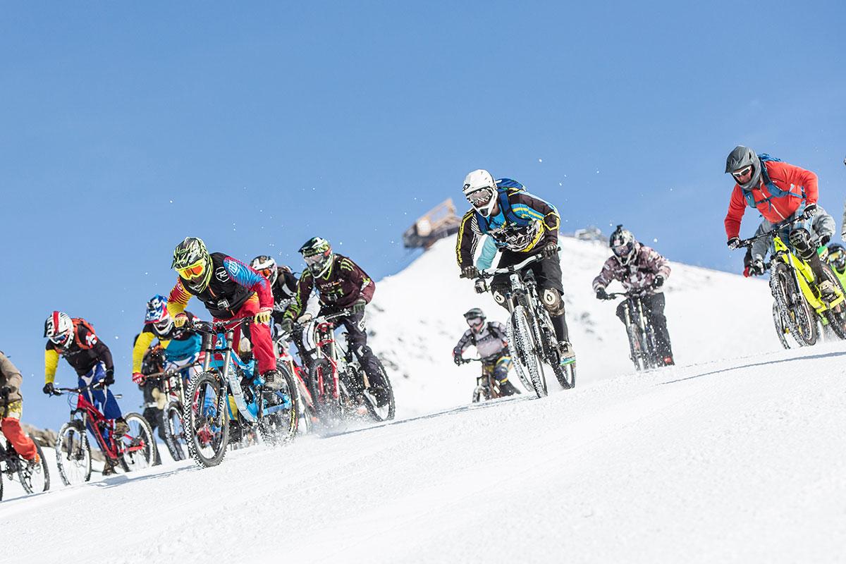 Sarenne Snow Bike