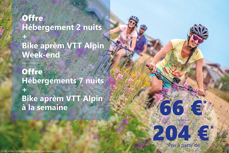 Hébergement + Bike Aprem