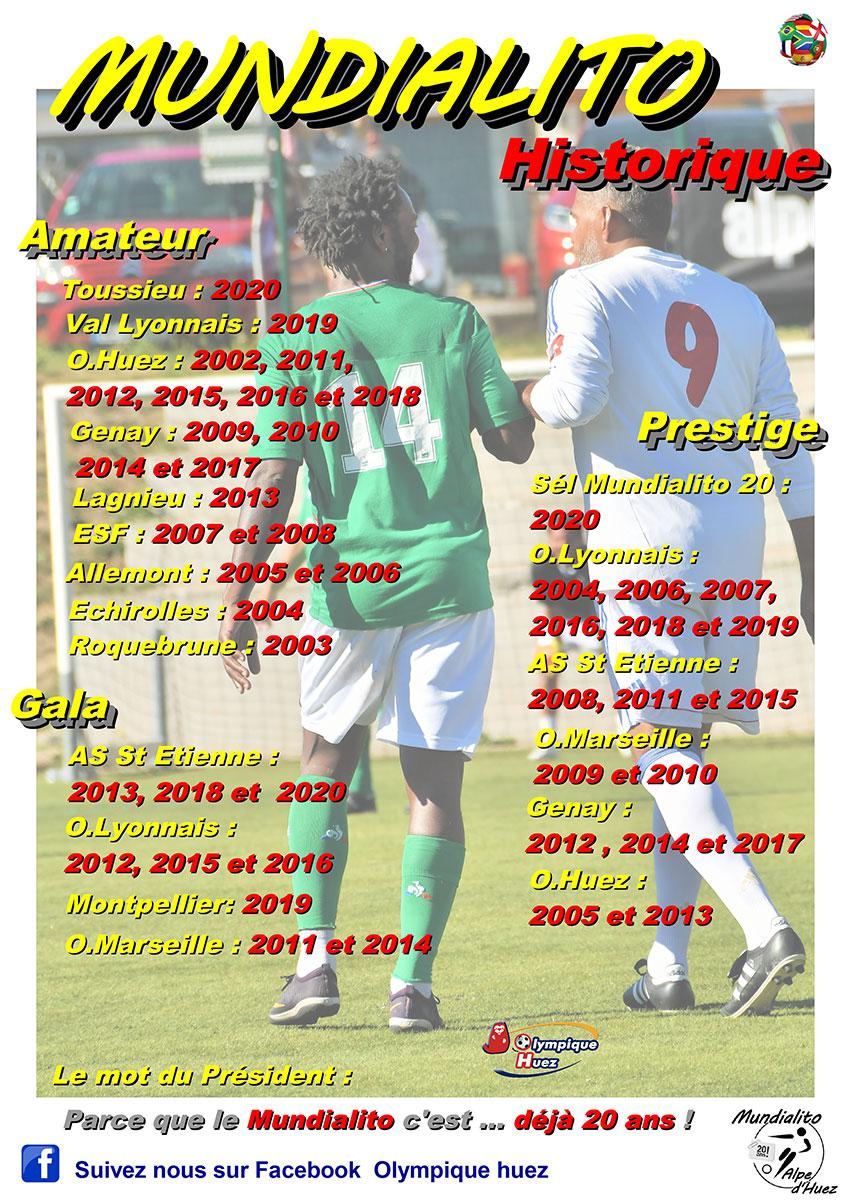 20 ans du Mundialito