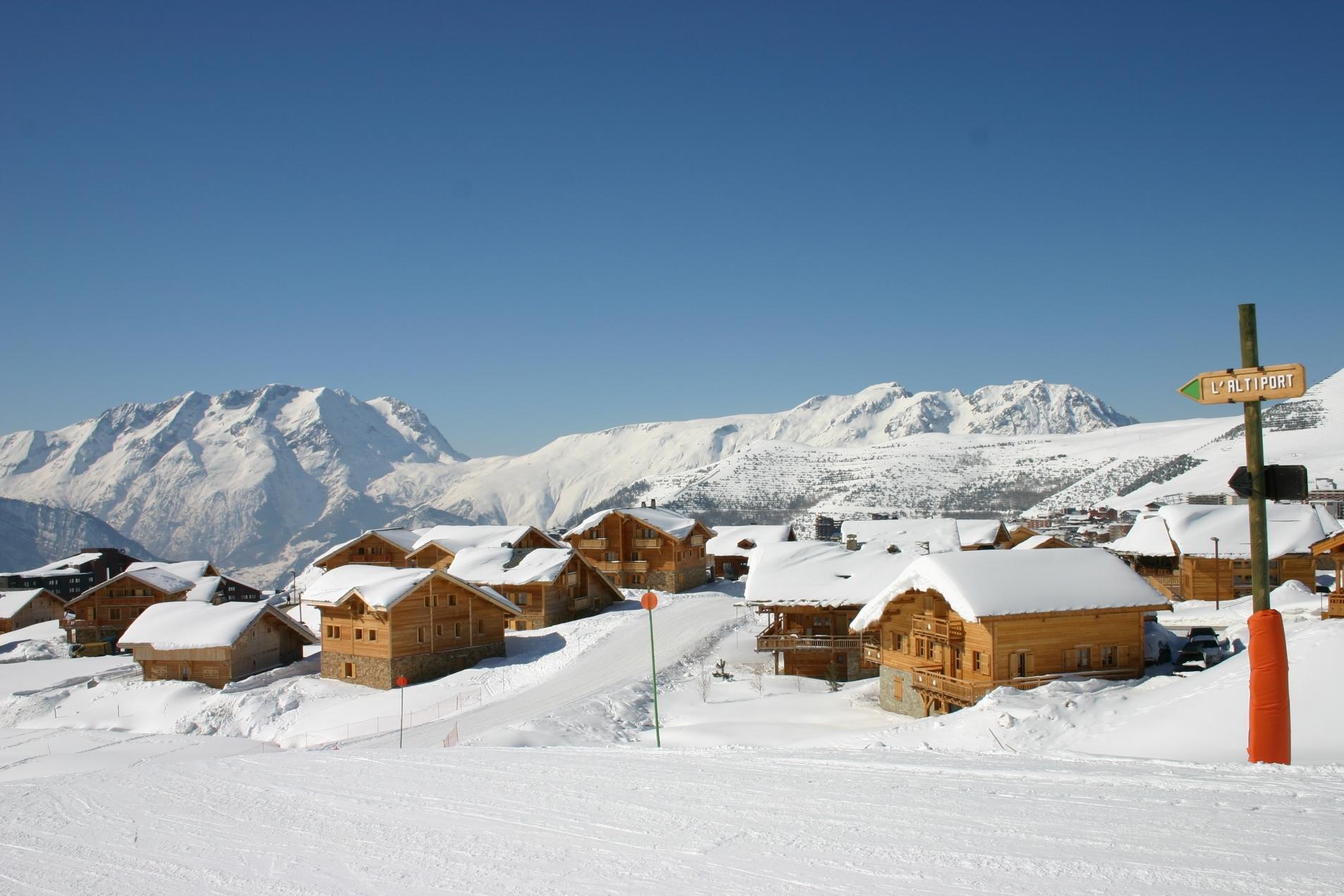 chalet Madame Vacances Alpe d'Huez hiver